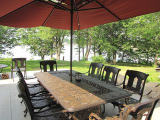 Cassopolis house photo - Heirloom quality shaded seating for 10!!