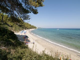 Chalkidiki house photo - The long, sandy beach of Kriopigi with its crystal clear waters!
