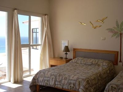 Master bedroom, La Palmera, two full beds