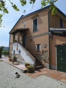 View of main house - La Fattoria del Gelso