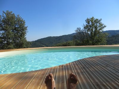 Large cottage with PRIVATE POOL for up to 13 people throughout the year