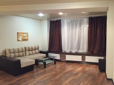 Apartment in the center of Dnepropetrovsk with Air conditioning, Lift, Parking, Washing machine (458051)