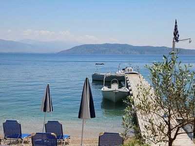 Local beaches and tavernas to visit by boat