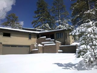 Flagstaff house photo - A winter get-away with the all the comforts of home...