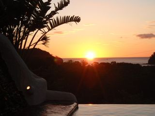 San Juan del Sur house photo - Great pool view sunset