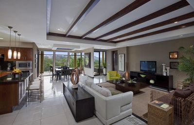 Premium Three Bedroom Private Residence Living Area