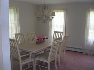 Mashpee house photo - Dining room with seating for 6 people.