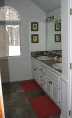 Gaylord chalet photo - Family-size bathroom w double sinks