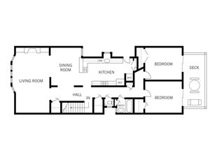 San Francisco condo photo - floorplan