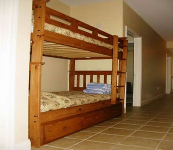 2 bunk beds for the kids!