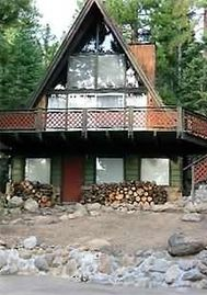 Brockway cabin rental - Summer View of Kings Beach Cabin--See our web site link below for more Photos