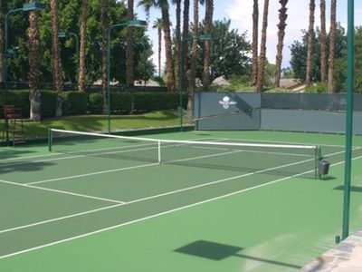 Twelve clay tennis courts and a stadium court. Massge/Spa services available