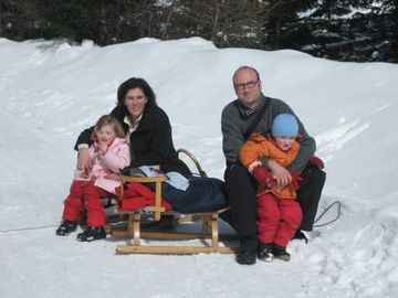 Tobogganing with the family guided tours Innsbruck