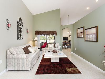 Formal Living Room - spacious and bright