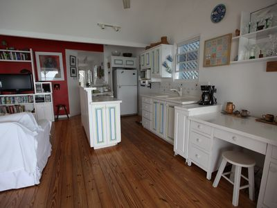 Upper Swanage Kitchen & living area