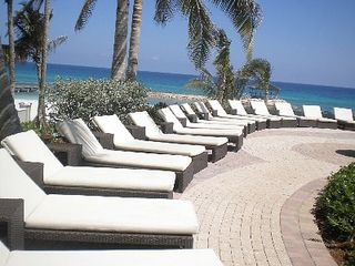 Montego Bay apartment photo - LOUNGING BY THE POOL