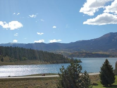 Amazing views of Lake Dillon