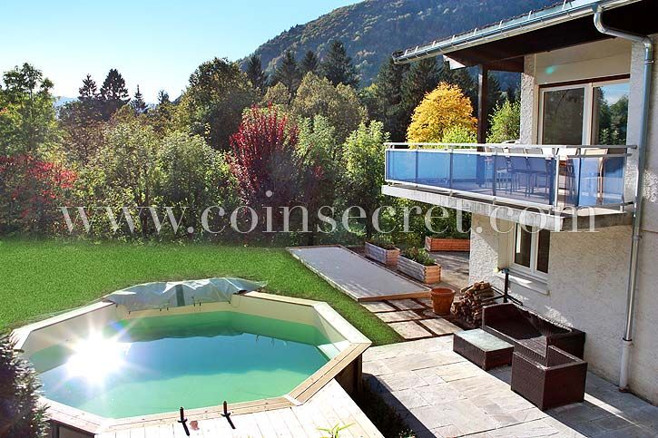 House with swimming pool near lake annecy 1447921 for Lake annecy hotels swimming pool