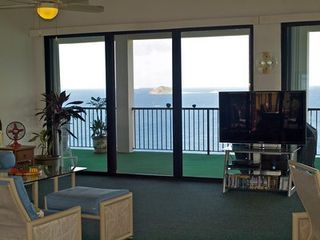 Water Island house photo - 55' LED TV with DVD library and I-Pod music system