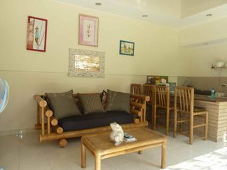 Seminyak villa photo - Relaxing cool living area