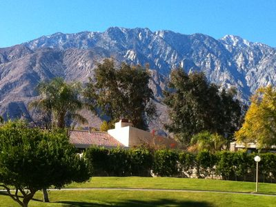 Our villa is here, at the base of the beautiful San Jacinto Mountains!