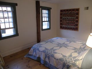 Wardsboro farmhouse photo - queen bedroom