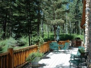 Jackson Hole house photo - West Deck. Built-in BBQ