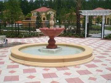 Mediterranean Gardens adorn the Resort!!