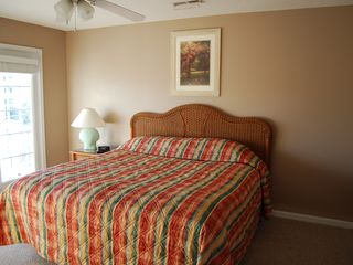 Surfside Beach house photo - Upstairs Bedroom with King Bed and Private Bath