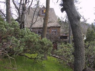 Lake Arrowhead cabin photo - boulder crest side
