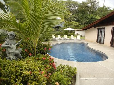 View of the pool - View of the pool at Casa Mandolina, Jaco Costa Rica