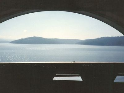 Coeur d 'Alene house rental - View from the Master Suite