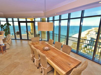 Million $ Views! Platinum, Penthouse! Executive~Corner unit~Gulf Front~Upscale!