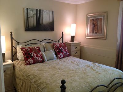 Petite syrah - bright and inviting bedroom