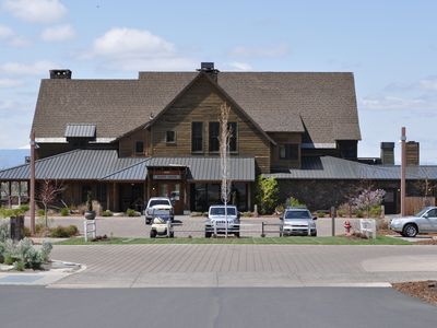 Ranch House - houses bistro, guest services, 8 guestrooms & library