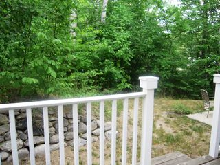 Off the back patio - Petoskey condo vacation rental photo