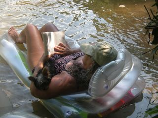 Helen cabin photo - Even Mom can relax on this vacation!!