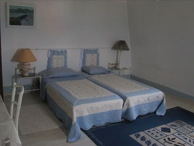 Estavayer-le-Lac villa rental - Blue room