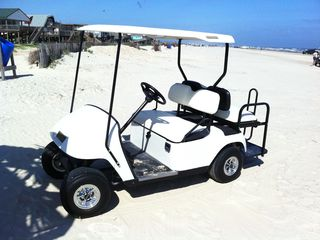 Surfside Beach cottage photo - Golf Cart is available for rent for an additional fee.