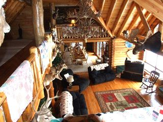 Ascutney cabin photo - Loft view