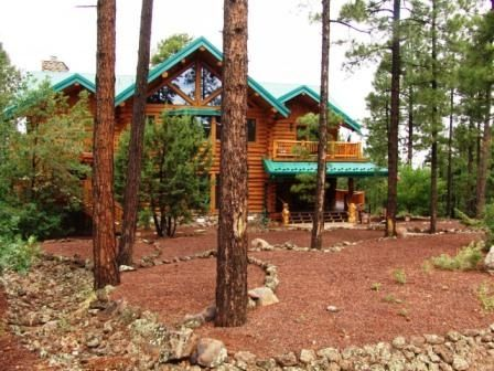 Luxury Log Home near Golf, Fish, Hike, Ski, & Casino.  WiFi!