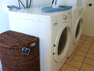 Anaheim house photo - Iron/Board; Front Load Washer / Dryer, very quiet and reliable.
