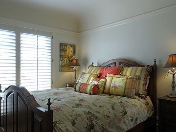 Bright and cheery bedroom