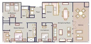 Spacious Floor Plan