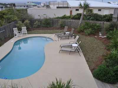 Enjoy your private pool within a landscaped fenced yard
