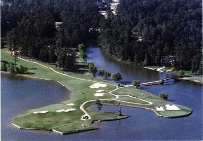 Walden Golf Course on Lake Conroe