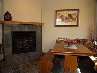 Vail house photo - Breakfast Nook Gas Fireplace
