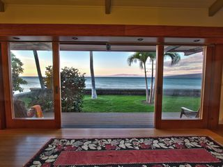 Puako house photo - Master bedroom view ...magical! Maui on distance ahead, Kohala Mountain right.