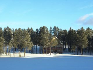 Angel Fire house photo - Winter at Cougar Den
