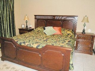 Playa Hermosa house photo - Master Suite (king bed) with en suite bath and private balcony